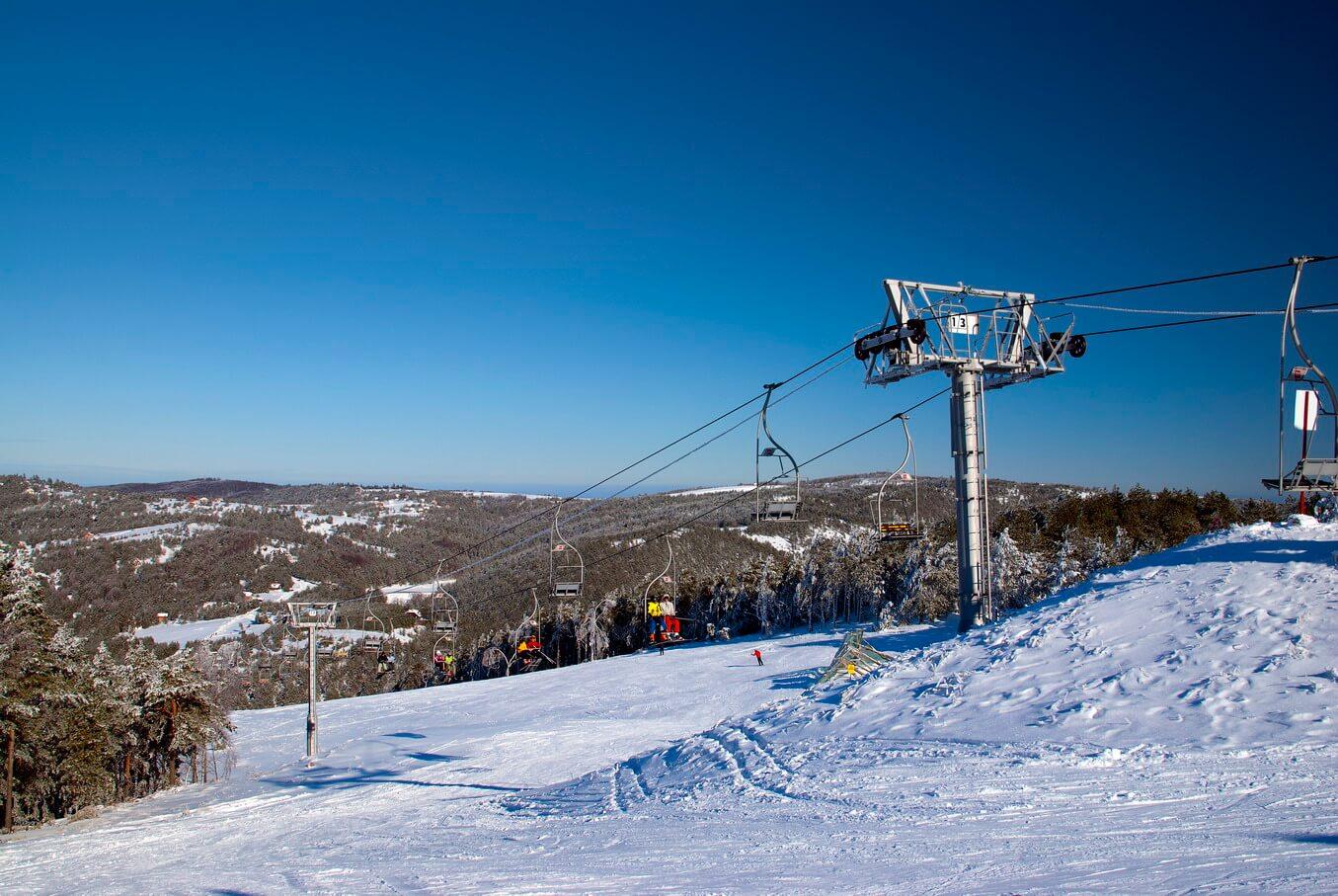 Nova godina - skijanje Crni vrh
