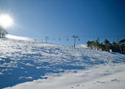 Galerija fotografija Green House Divcibare Zima Ski Staza Crni Vrh Pogled Ka Jugu